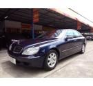 2001 BENZ S280 AUTO สภาพสวยมาก ไม่เคยมีอุบัติเหตุ เบาะหน้าหลังไฟฟ้า ช่วงล่างไฟฟ้า